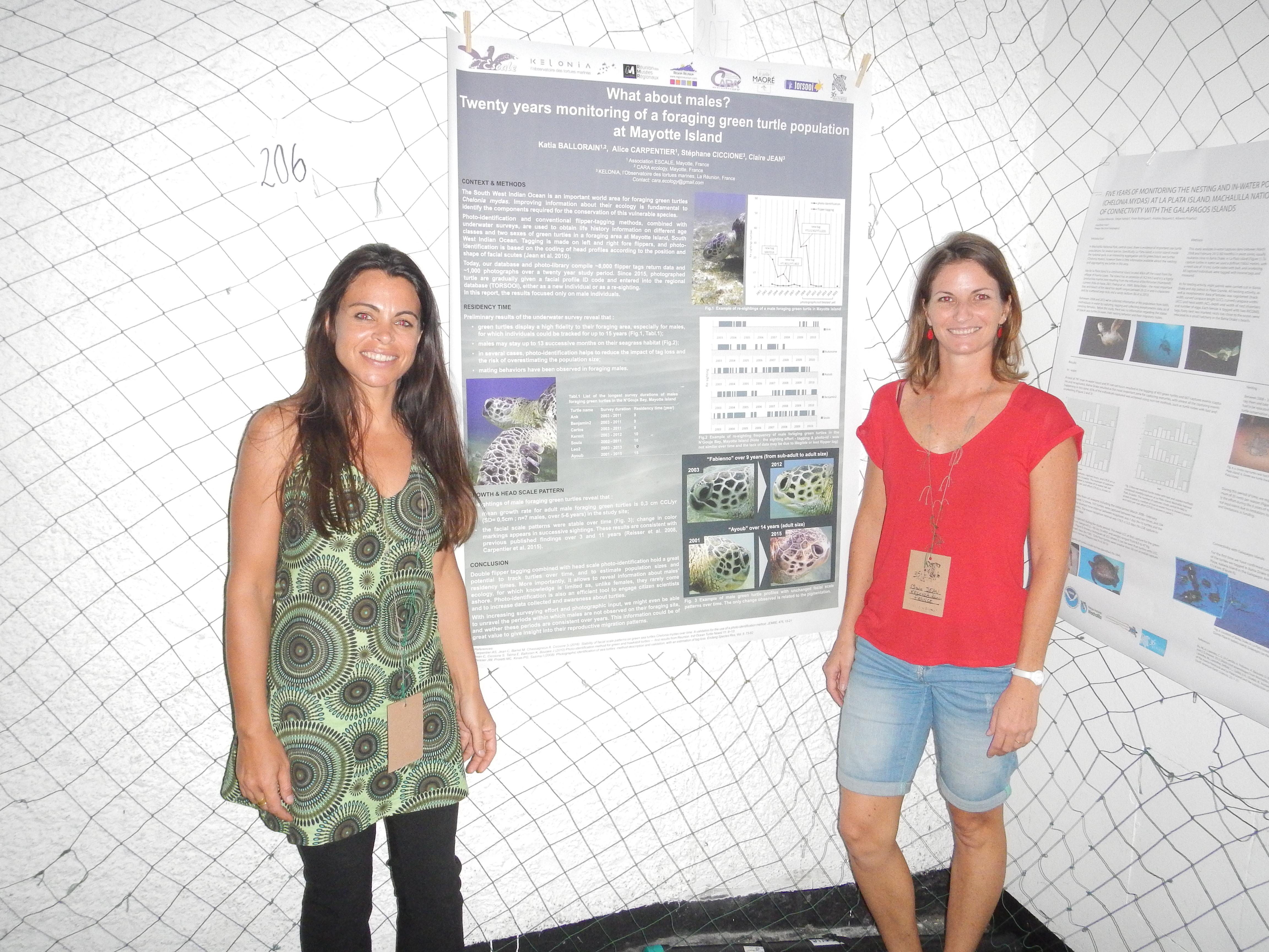 katia et claire poster ISTS 2016